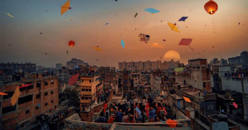 পুরান ঢাকায় নানা আয়োজনে পালিত হচ্ছে ঐতিহ্যবাহী 'সাকরাইন'