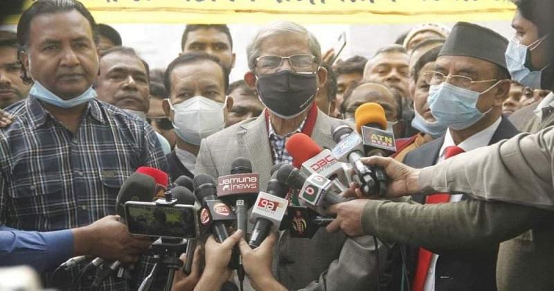 করোনা নিয়ন্ত্রণে সম্পূর্ণ ব্যর্থ হয়েছে সরকার: মির্জা ফখরুল