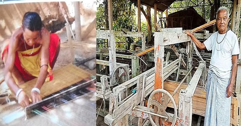 শেরপুর গারো পাহাড়ের তাঁত শিল্প এখন ঘুণে খাচ্ছে